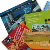 A picture of brochures.